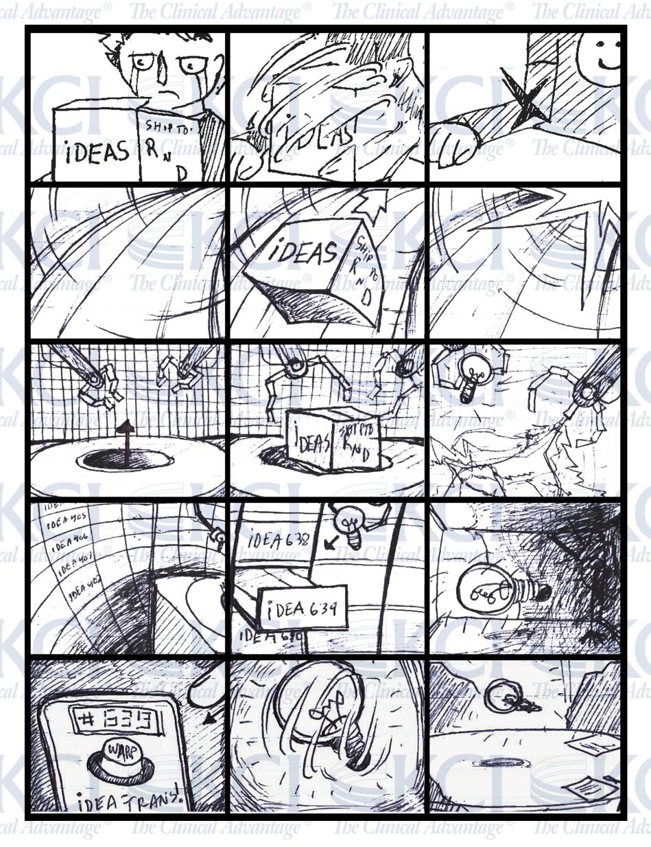 Kinetic Concepts Internship Storyboards