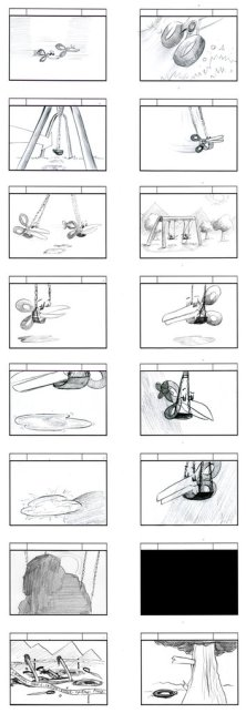Rock Paper Scissors Storyboards