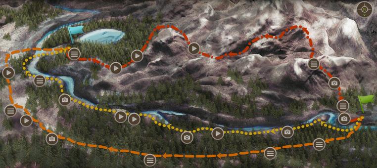 Interactive Map Of Alaska.Ultimate Survivor Alaska S Interactive Maps もうろう